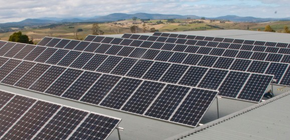 Boom and bust in the solar industry in Tasmania